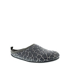 Camper - Dark grey mens slippers