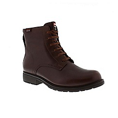 Camper - Brown 'Land' women's lace up boots