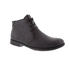 Camper - Black 'Mil' men's lace up boot