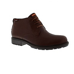 Camper - Brown 'Mil' men's lace up boots
