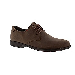 Camper - Brown 'Mil' mens smart lace up shoes