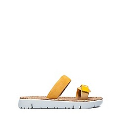 Camper - Yellow Amarillo 'Oruga' Women's Sandals