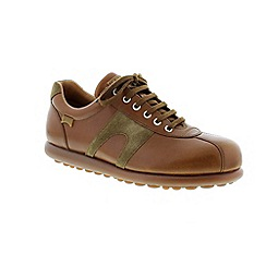 Camper - Brown 'Pelotas' mens casual lace up shoe