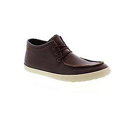 Camper - Brown vulcanizado brown 'pelotas persil' mens shoes