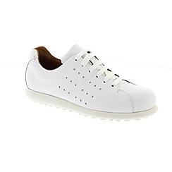 Camper - White Natural 'Pelotas' ladies shoe