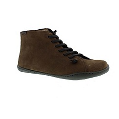 Camper - Brown 'Peu' men's lace up boot
