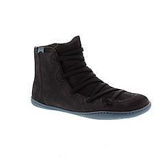Camper - Black 'Peu' womens ankle boots