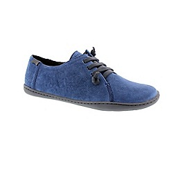 Camper - Medium blue 'Peu' womens shoes