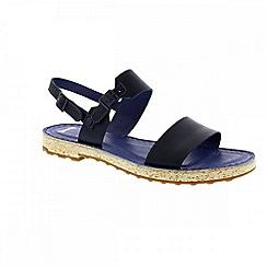 Camper - Dark blue 'Pimpom' womens sandals