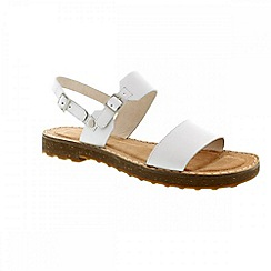 Camper - White natural 'Pimpom' womens sandals