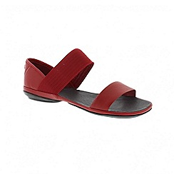Camper - Medium red right nina ladies sandal