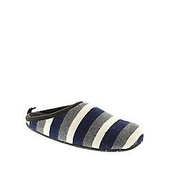 Camper - Blue and Grey Stripes 'Wabi' mens slippers