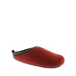 Camper - Red 'Wabi' mens slippers