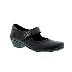 Remonte - Black ladies mary jane style shoe