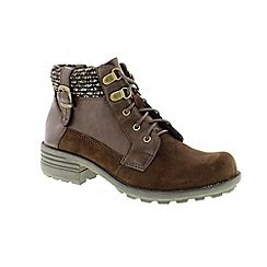 Earth Spirit - Brown 'bark mobile' ladies boots
