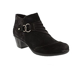 Earth Spirit - Black 'Tampa' ankle boots