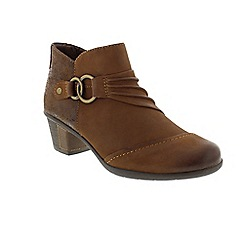 Earth Spirit - Brown 'Tampa' ankle boots