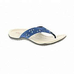 Earth Spirit - Aurora blue sandals