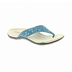 Earth Spirit - Aurora cool aqua sandals