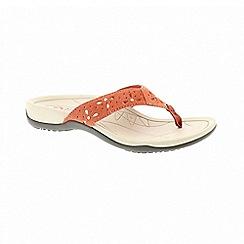 Earth Spirit - Aurora coral sandals