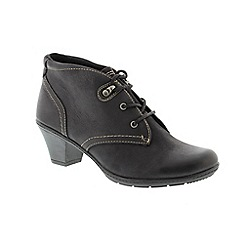 Earth Spirit - Black 'Brownsville' ladies boots