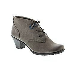 Earth Spirit - Grey 'Brownsville' ladies boots