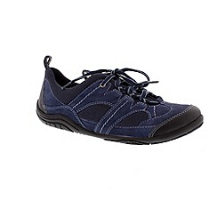 Earth Spirit - Navy blue 'Buffalo' casual lace up shoe