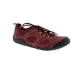 Earth Spirit - Merlot 'Buffalo' casual lace up shoe