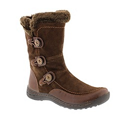 Earth Spirit - Brown 'Bark Caribou' ladies boots
