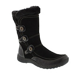 Earth Spirit - Black 'Caribou' ladies boots