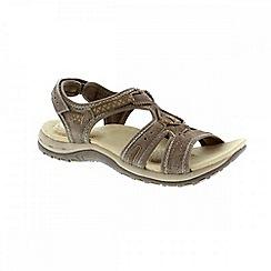 Earth Spirit - Brown 'Carolina' ladies sandals