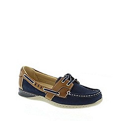 Earth Spirit - Navy blue 'Chicago' ladies casual shoes