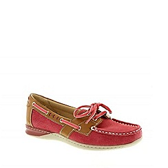Earth Spirit - Red 'Chicago' ladies casual shoes