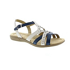 Earth Spirit - White 'Columbia' ladies sandal