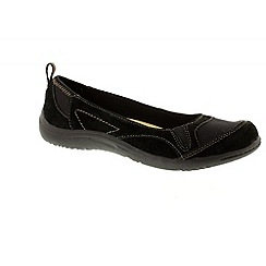 Earth Spirit - Black 'Dakota' ladies casual pumps