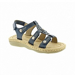 Earth Spirit - Edison - Morrocan Blue sandals