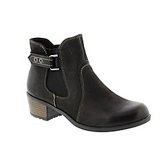 Earth Spirit - Black 'El Reno' ladies boots