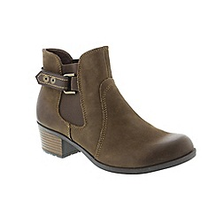 Earth Spirit - Brown Stone 'El Reno' ladies boots
