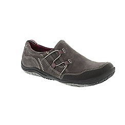 Earth Spirit - Grey Grey 'Frenso' ladies slip on shoes