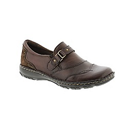 Earth Spirit - Brown Bark 'Greensboro' ladies slip on shoes