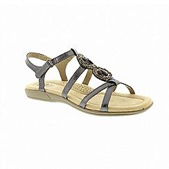 Earth Spirit - Inglewood - Pewter sandals