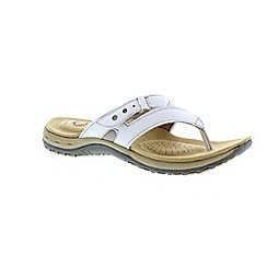 Earth Spirit - White 'Iwoa' ladies sandal