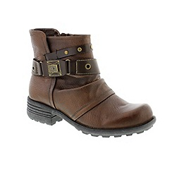 Earth Spirit - Brown 'Almond Kentucky' ladies boots