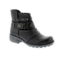 Earth Spirit - Black 'Kentucky' ladies boots