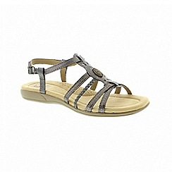 Earth Spirit - Killene - Pewter sandals