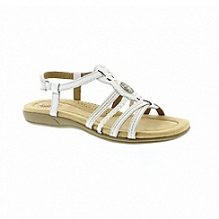Earth Spirit - Killene white sandals