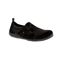Earth Spirit - Black 'Lincoln' casual shoe