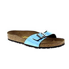 Birkenstock - Mirror blue 'Madrid' ladies sandals
