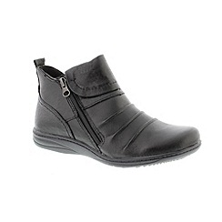Earth Spirit - Black 'Missouri' ladies boots
