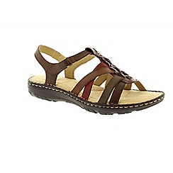 Earth Spirit - Brown 'New Jersey' ladies casual sandals